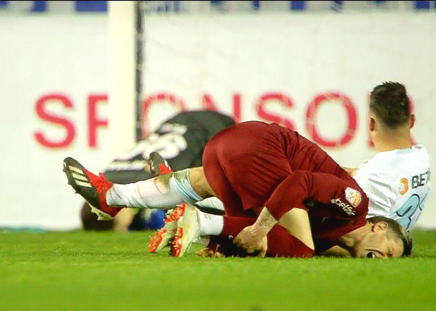 CFR Cluj a cerut lovitură de la 11 metri în minutul 68 al meciului cu FCSB, din Supercupa României.