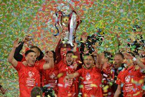 CFR Cluj, petrecere de zile mari la Ploiești! Cum au sărbătorit triumful din Supercupa României