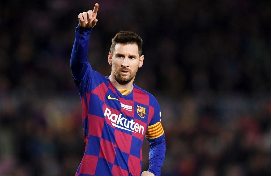 Lionel Messi are 6 Baloane de Aur în palmares, record absolut în fotbalul mondial