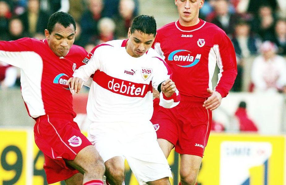 Ionel Ganea a evoluat timp de 4 sezoane la VfB Stuttgart, în Bundesliga.