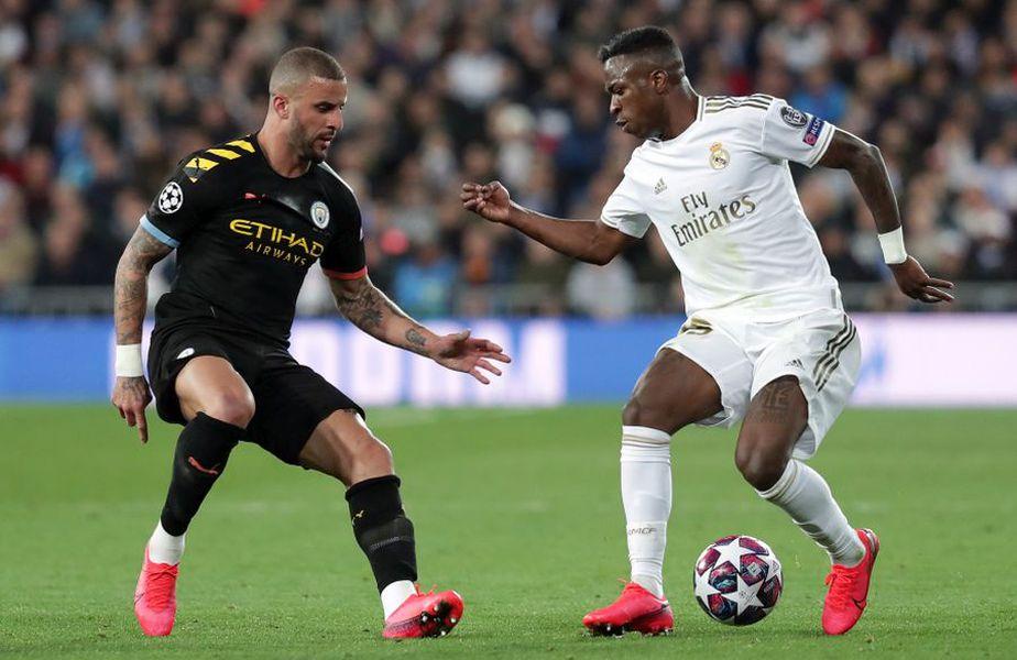 Real Madrid a pierdut manșa tur a duelului cu Manchester City din Liga Campionilor // sursă foto: Guliver/gettyimages