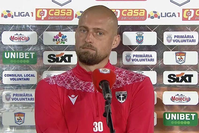 Gabi Tamaș, FC Voluntari // foto: captură Look Sport