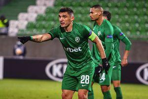 Claudiu Keșeru, spectacol în Bulgaria! Două assisturi de finețe pentru Ludogorets