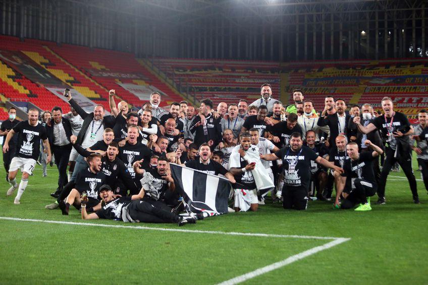 Besiktas este campioana Turciei // foto: twitter.com/Besiktas