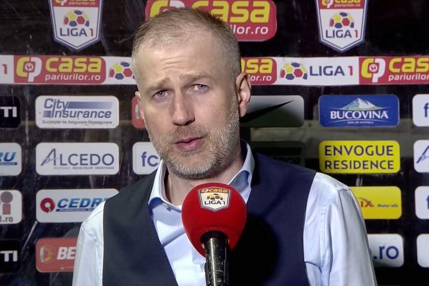 Edi Iordănescu, antrenor CFR Cluj // foto: captură YouTube @ Look Sport