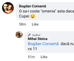 Mihai Stoica, reacții după CS Universitatea Craiova - CFR Cluj