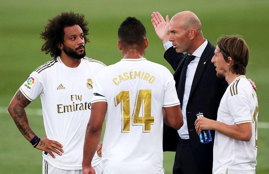 Zidane nu a fost mulțumit de evoluția jucătorilor lui în Real Madrid - Eibar 3-1 // Sursă foto: Getty