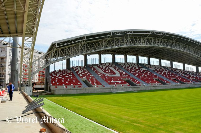 Stadionul din Arad // FOTO: https://www.facebook.com/viorel.musca