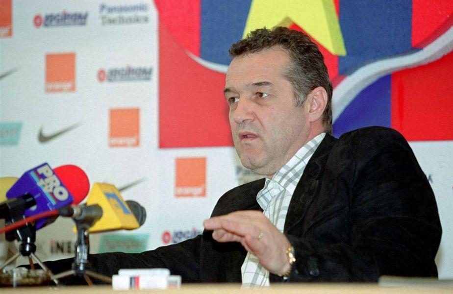 Gigi Becali este conducătorul celor de la FCSB din 2003