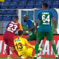 Florin Andone s-a accidentat grav în meciul Rizespor - Galatasaray 2-0