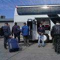 Muncitori români pleacă la muncă în străinătate, în timpul pandmeiei de coronavirus