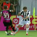 Intrarea necugetată a lui Cardoso. Captură TV Telekom Sport