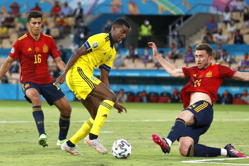 Spania - Suedia 0-0. FOTO: Guliver/Getty Images