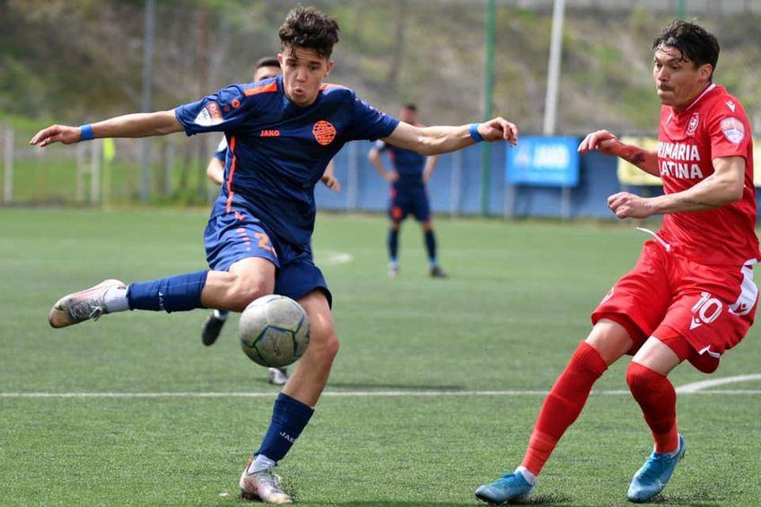 Andrei Florescu (în stânga) va reveni la Dinamo. Sursă foto: Facebook