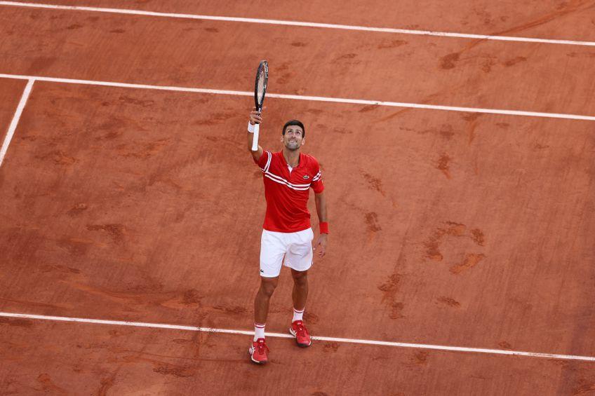 Novak Djokovic privind spre cer FOTO Guliver/GettyImages