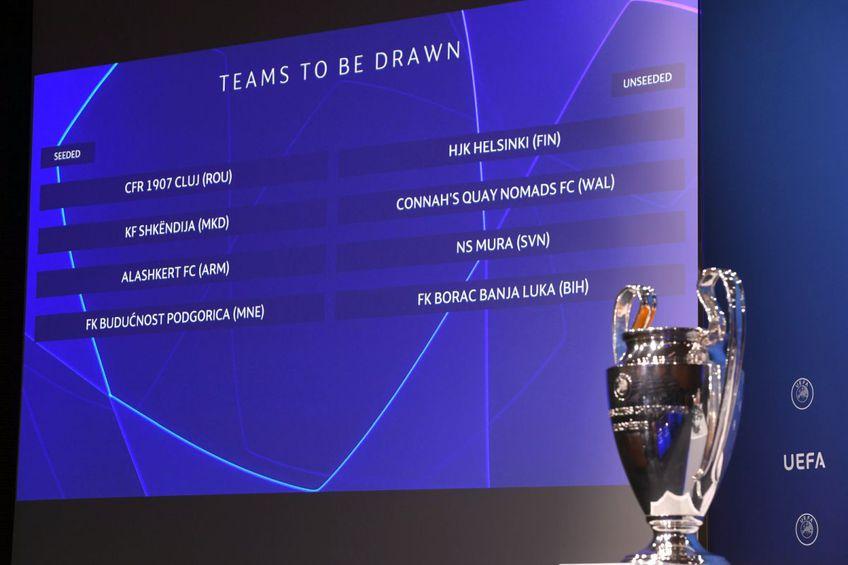 CFR CLuj își află astăzi adversara din turul I al preliminariilor Champions League