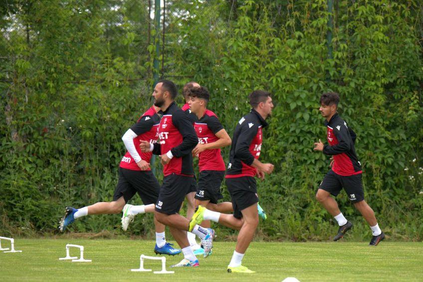 Dinamo s-a reunit astăzi. FOTO: Cristi Preda