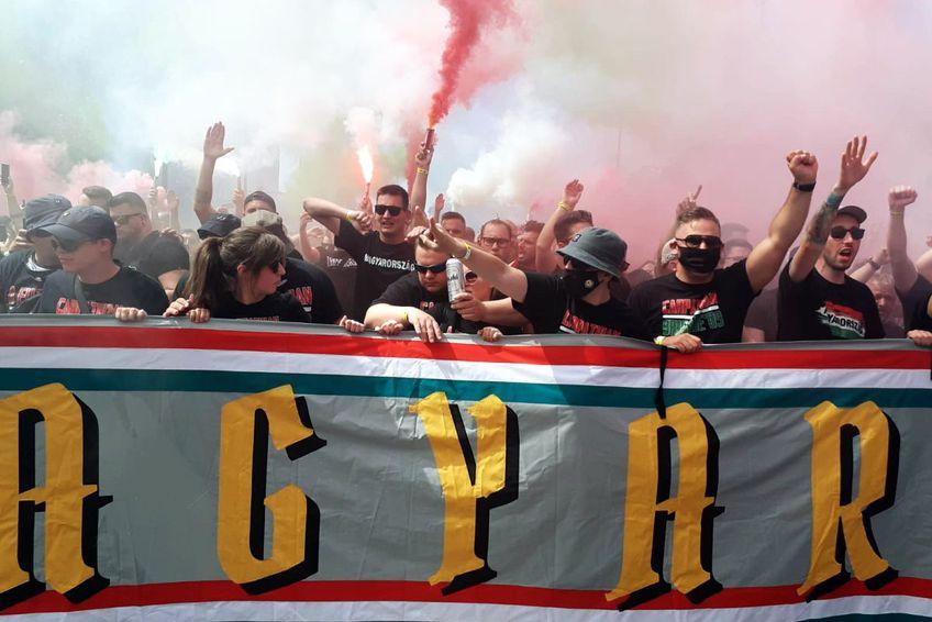 Cei mai temuți ultrași maghiari au avut recital / FOTO: Theodor Jumătate (GSP)