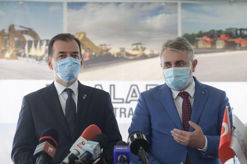 Ludovic Orban și Lucian Bode, FOTO: Inquam Photos, George Călin