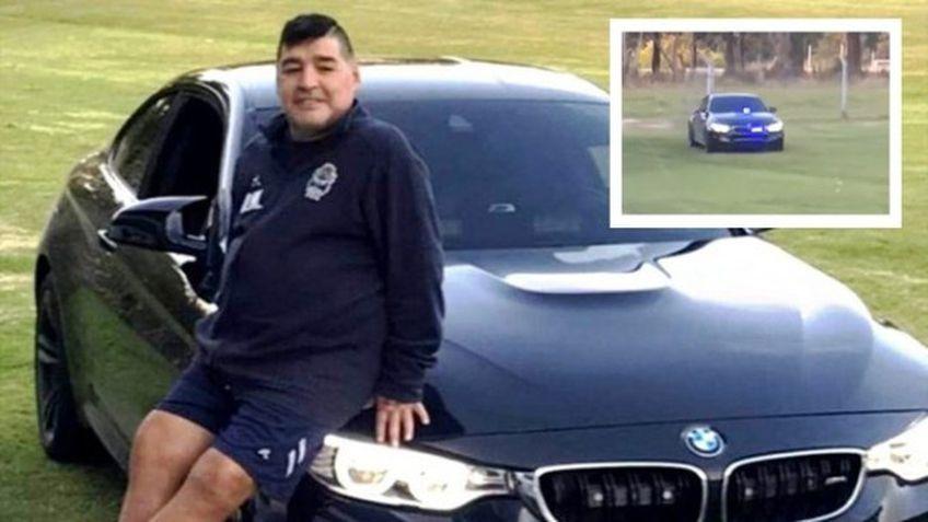 """Maradona are o nouă """"jucărie"""" FOTO: lapatilla.com"""