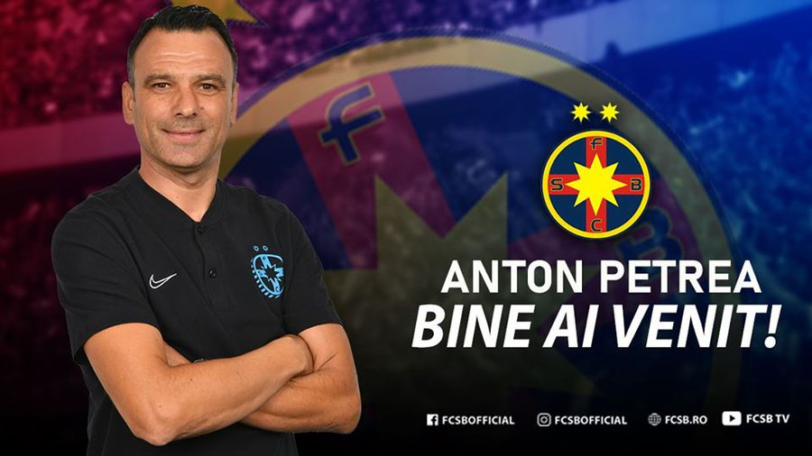 FOTO OFICIAL FCSB și-a prezentat noul antrenor
