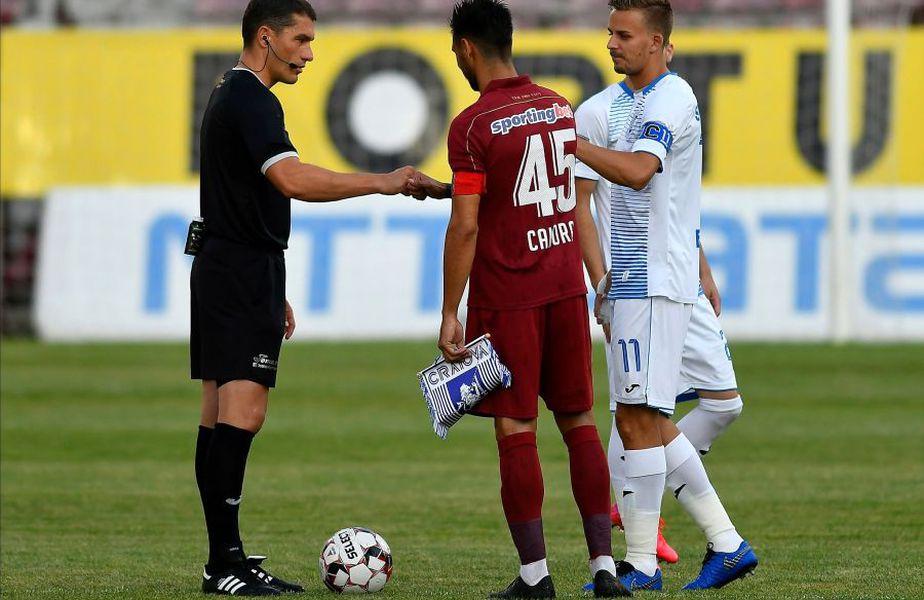 Istvan Kovacs a ajutat-o pe Craiova să câștige pe terenul campioanei