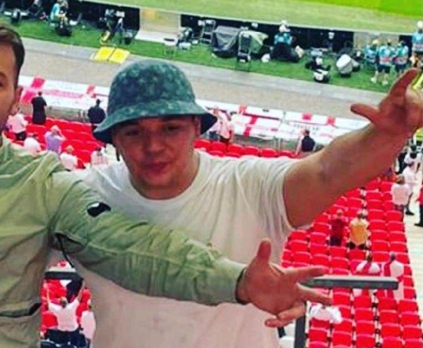 Charlie Perry, 25 de ani, a povestit că a băut timp de 12 ore înainte de Italia - Anglia, foto: The Sun
