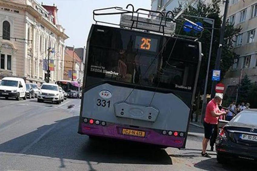 Marius Șumudică, implicat într-un accident în Cluj-Napoca // foto: ziardecluj.ro