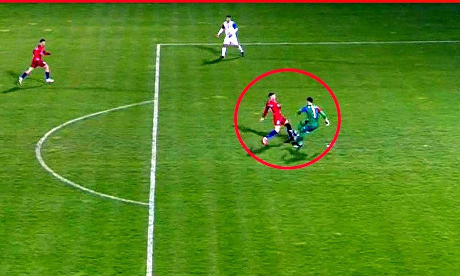 Revanșa lui Pap » Portarul care gafase uluitor la ultimul meci direct, erou la penalty-ul lui Tănase