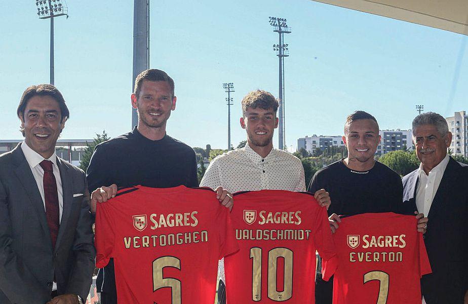 Benfica a făcut 3 transferuri tari // FOTO: https://www.facebook.com/SLBenfica/