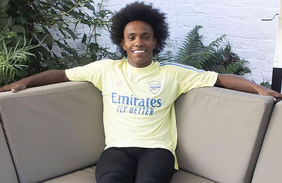Willian, noua vedetă a lui Arsenal // FOTO: https://www.facebook.com/Arsenal/