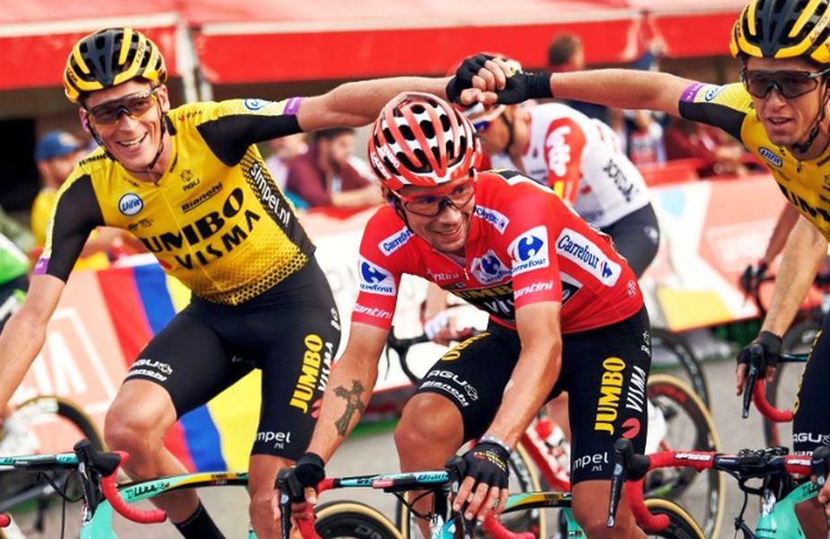 Primož Roglič // Sursă foto: Twitter Team Jumbo-Visma cycling 
