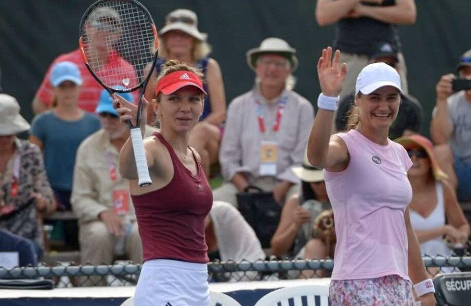 Simona Halep și Monica Niculescu, victorie-blitz la Roma!