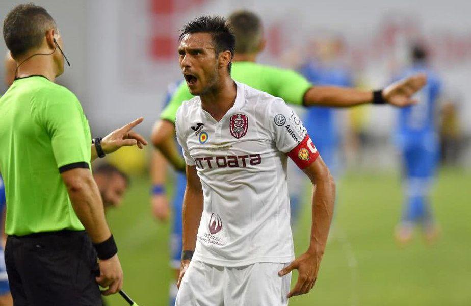 Mario Camora (33 de ani), fundașul stânga al celor de la CFR Cluj, a fost criticat de Mirel Rădoi, selecționerul naționalei, pentru faptul că a început să cânte imnul României în direct la TV, în zilele precedente