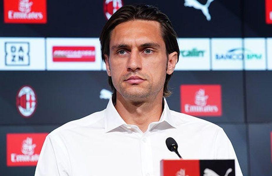 AC Milan l-a prezentat oficial pe Ciprian Tătărușanu. Portarul român de 34 de ani, transferat cu 500.000 €, a dezvăluit cum a trecut din Ligue 1 la Serie A.