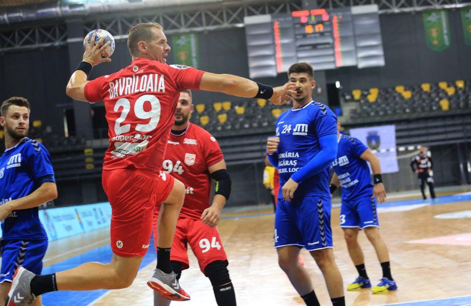 Răzvan Gavriloaia a marcat de 4 ori contra celor de la Făgăraș FOTO Dinamo