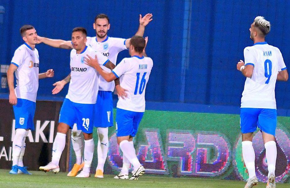 Andrei Ivan a fost printre cei mai buni jucători în victoria cu Viitorul. Sursă foto: facebook.com/UCVOficial
