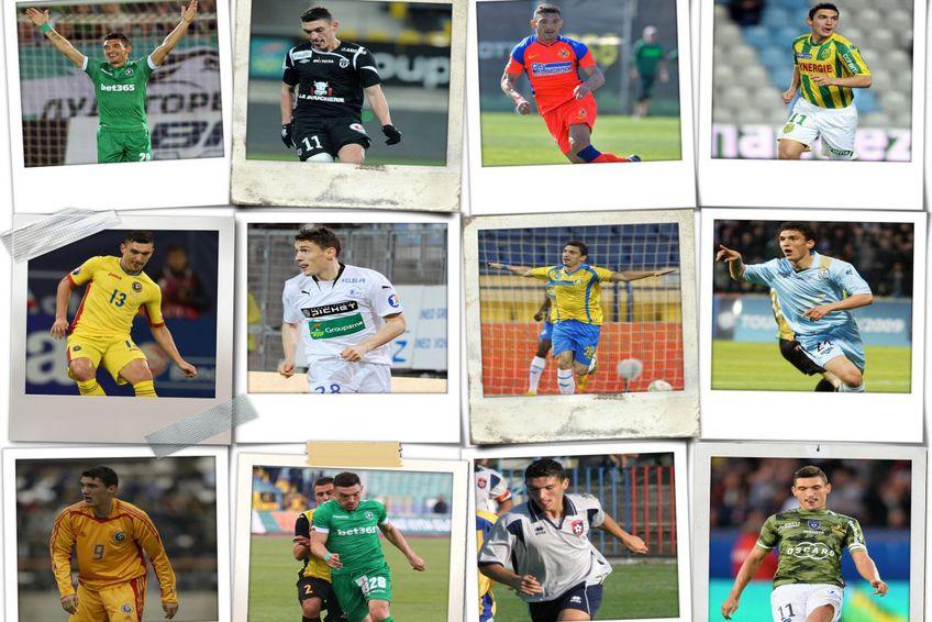 Echipele pentru care Claudiu Keșeru a marcat 276 de goluri în carieră