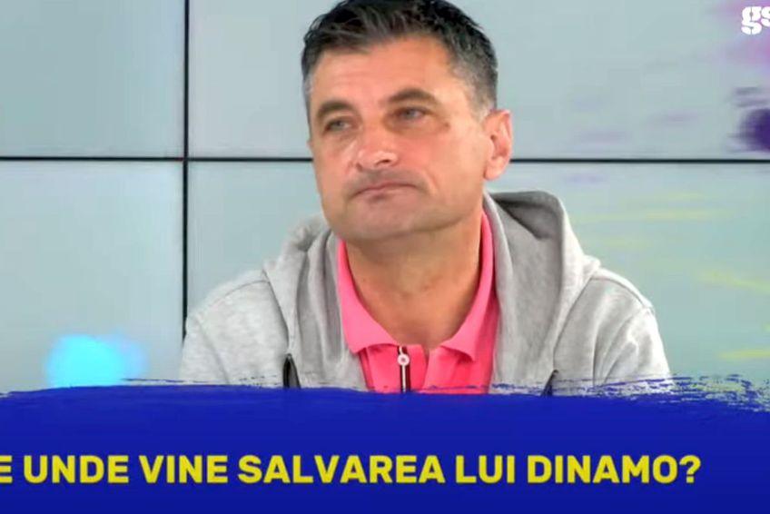 """Sorin Colceag ar urma să pregătească prima echipă a """"câinilor"""" în următoarele săptămâni / Captură GSP Live"""