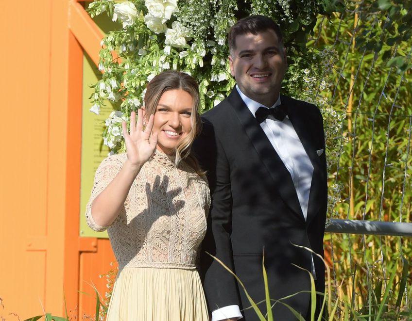 Simona Halep se căsătorește azi cu Toni Iuruc // FOTO: Dumitru Angelescu