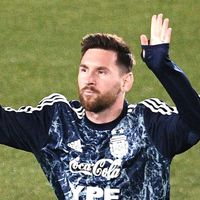 Messi a răbufnit