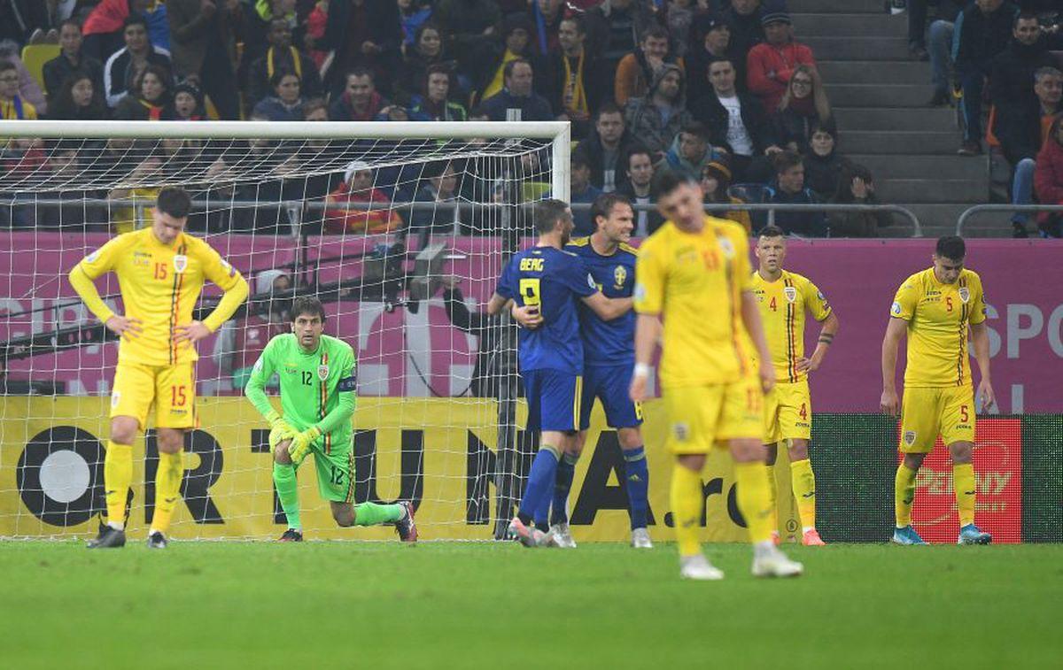 Suedia insistă cu rasismul: cere UEFA să schimbe regulamentul, după meciul cu România