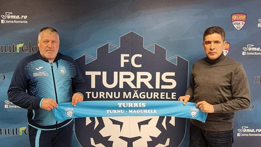 Mădălin Ioniță (stânga) și Silviu Bogdan, oamenii despre care Lincar spune că l-au dat afară de la Turris