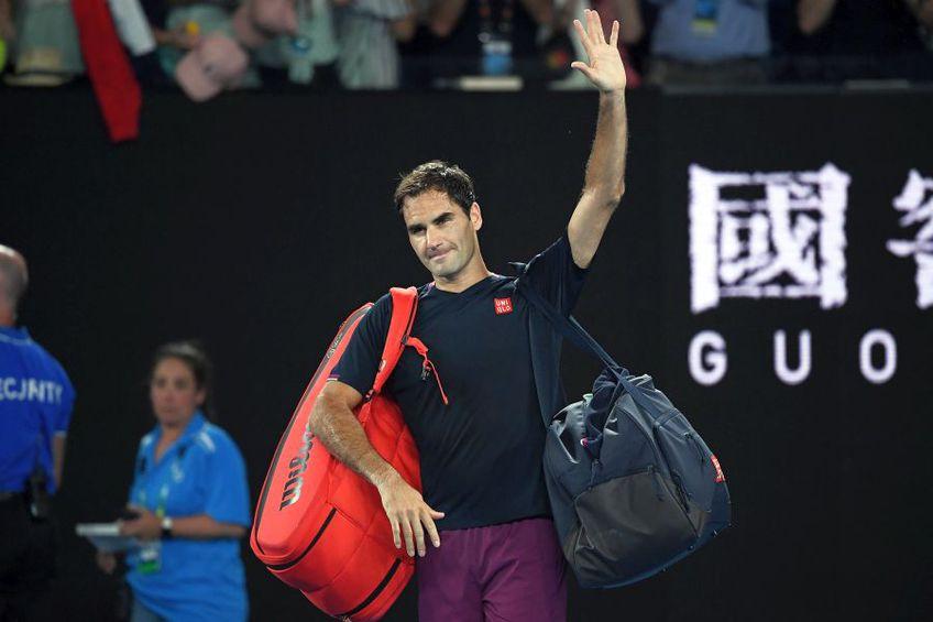 Roger Federer. foto: Guliver/Getty Images