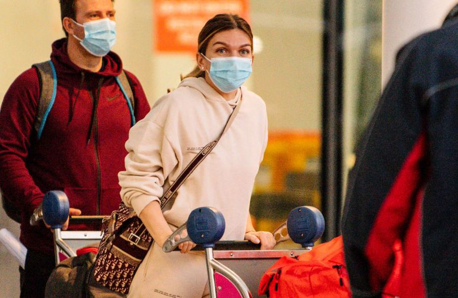 Simona Halep a ajuns în Australia, foto: Imago