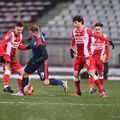 Chindia a învins-o pe Dinamo, scor 1-0, în prologul rundei cu numărul 17 din Liga 1.