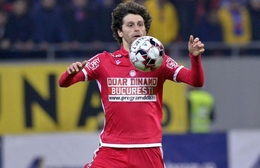 Diego Fabbrini (30 de ani, mijlocaș ofensiv) a confirmat la finalul partidei Dinamo - Chindia 0-1 că va rămâne în Ștefan cel Mare.