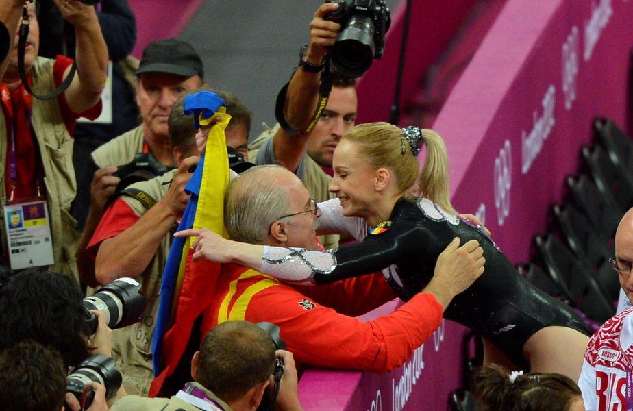 Octavian Bellu și Sandra Izbașa la Jocurile Olimpice de la Londra FOTO Raed Krishan