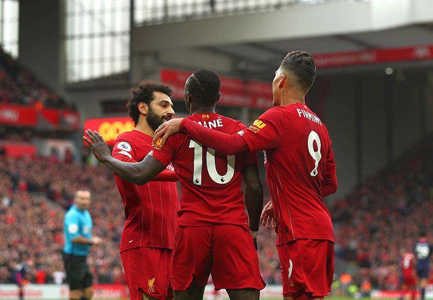 Jucătorii lui Liverpool au jucat  perfect în acest sezon de Premier League // FOTO: Guliver/GettyImages
