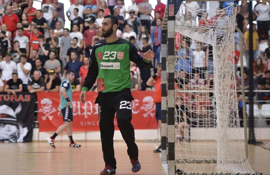 Saeid Heidarirad a fost unul dintre cei mai importanți jucători ai lui Dinamo în acest sezon. Foto: Cristi Preda